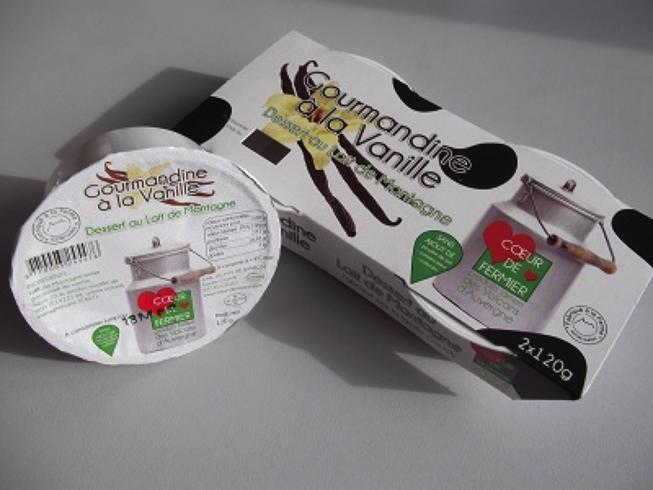 Gourmandine à la vanille par 2