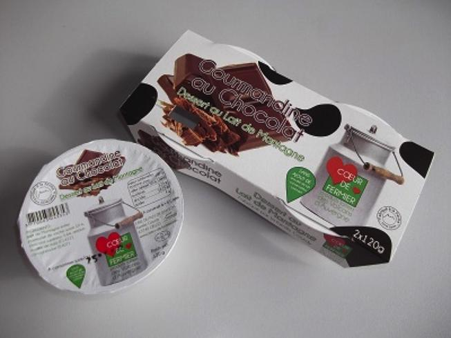 Gourmandine au chocolat par 2