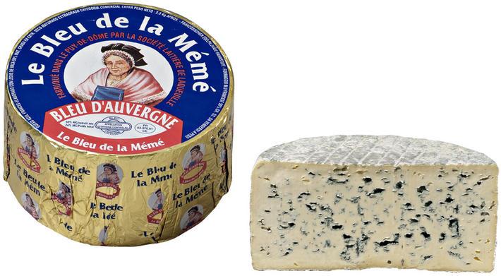 Bleu d'Auvergne AOP au lait pasteurisé