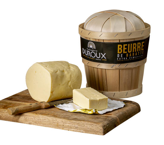 Beurre baratte extra fin
