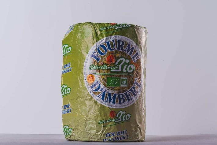 Fourme d'Ambert AOP au lait pasteurisé issu de l'agriculture biologique