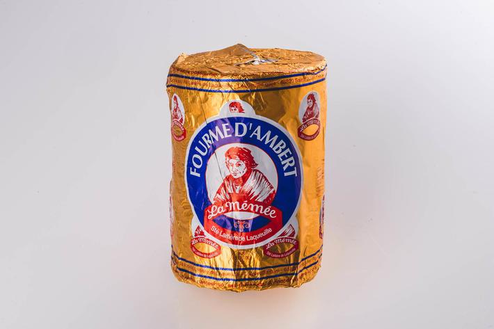 Fourme d'Ambert AOP au lait pasteurisé