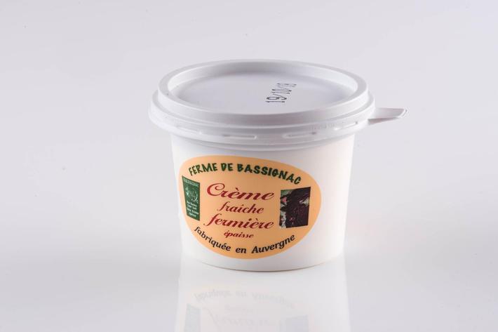 Crème fraîche fermière 20cl