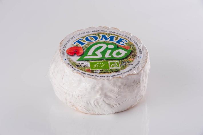 Tome 350 g au lait issu de l'agriculture biologique