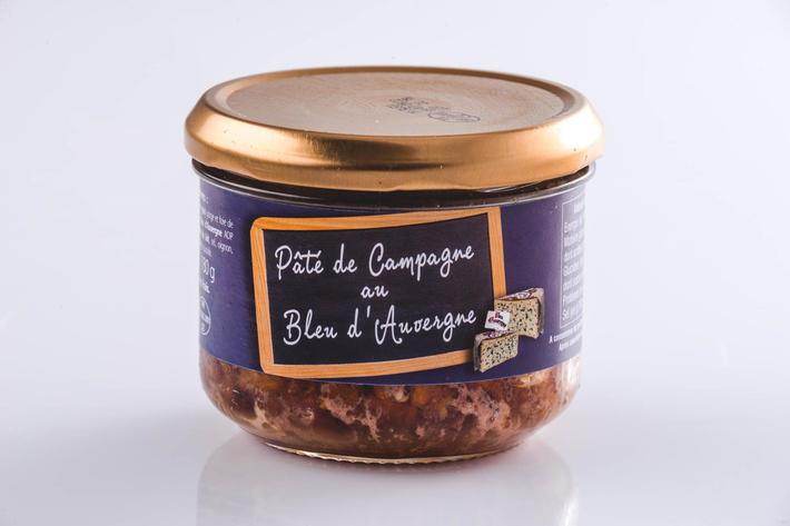 Pâté de campagne au Bleu d'Auvergne AOP