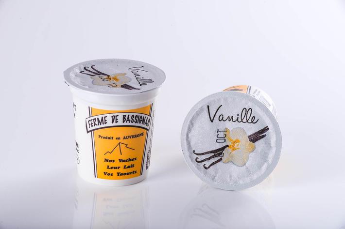 Yaourts vanille par 4